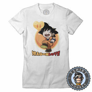 Dragon Love Son Goku Tshirt Lady Fit Ladies 0065