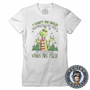 Not Responsible Tshirt Lady Fit Ladies 2994