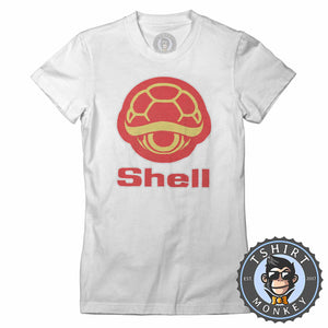 Turtle Shell Meme Mashup Funny Tshirt Lady Fit Ladies 1204