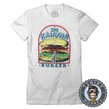 Load image into Gallery viewer, Big Kahuna Burger Pulp Fiction Movie Inspired Vintage Summer Tshirt Lady Fit Ladies 1116