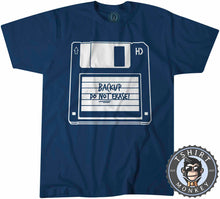 Load image into Gallery viewer, Backup Do Not Erase Classic Diskette Funny Computer Statement Tshirt Kids Youth Children 1206