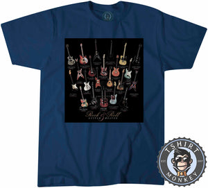 Awesome Rock and Roll Guitar Heaven Tshirt Mens Unisex 0067