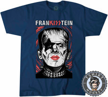 Load image into Gallery viewer, Frankisstein V2 - Music Inspired Kiss Halloween Mashup Tshirt Kids Youth Children 1136