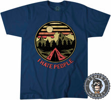 Load image into Gallery viewer, I Hate People Funny Camping Vintage Summer Tshirt Kids Youth Children 1183