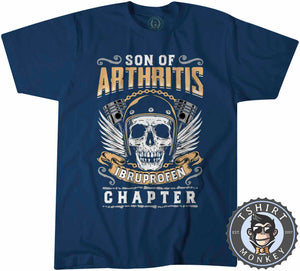 Skull With Wings Sons of Arthritis Inspired Tshirt Mens Unisex 0051