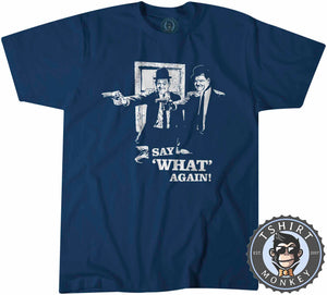 Say What Again Movie Inspired Pulp Fiction Vintage Catchphrase Tshirt Kids Youth Children 1176