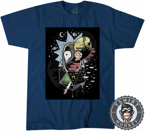 Rick And Morty Abstract Tshirt Mens Unisex 0188