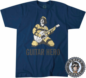 Rockstar Fireman Guitar Hero Rock and Roll Graphic Tshirt Kids Youth Children 1060