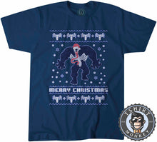Load image into Gallery viewer, Venom Inspired Ugly Sweater Christmas Tshirt Mens Unisex 1648