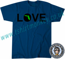 Load image into Gallery viewer, Love Florida T-Shirt Unisex Mens Kids Ladies