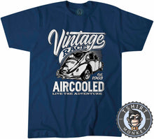 Load image into Gallery viewer, Vintage Race Aircooled Hotrod Classic Car Tshirt Mens Unisex 1261