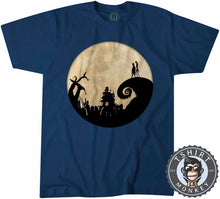 Load image into Gallery viewer, Jack And Sally - Christmas Halloween Movie Inspired Tshirt Mens Unisex 1058