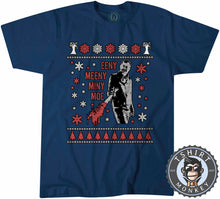 Load image into Gallery viewer, Eeny Meeny Miny Moe Ugly Sweater Chistmas Tshirt Mens Unisex 1627