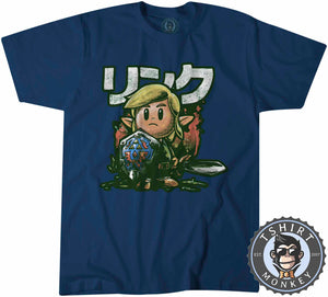 Cute Chibi Zelda Gamers Tshirt Shirt Mens Unisex 1480