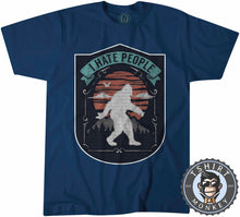 Load image into Gallery viewer, Vintage I Hate People Bigfoot Sasquatch Inspired Tshirt Kids Youth Children 1088