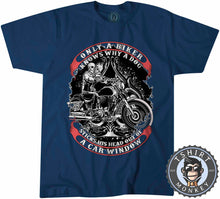 Load image into Gallery viewer, Only A Biker Knows Why Vintage Tshirt Kids Youth Children 1228