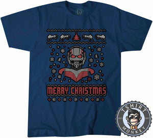 Ant-Man Ugly Sweater Chistmas Tshirt Mens Unisex 1622