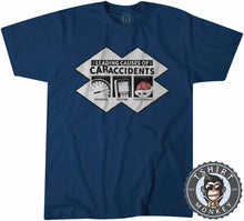 Load image into Gallery viewer, Leading Causes of Car Accidents Funny Tshirt Mens Unisex 1093