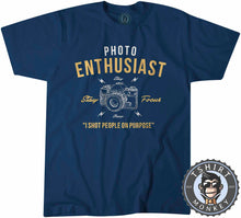 Load image into Gallery viewer, Stay Focus - Photo Enthusiast - Funny Photography Vintage Statement Tshirt Mens Unisex 1248