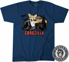 Load image into Gallery viewer, CORGZILLA - Dog Inspired Corgi Funny Animal Print Meme Tshirt Mens Unisex 1094