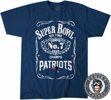 Load image into Gallery viewer, Super Bowl - 6 Times Champ Tshirt Mens Unisex 0133