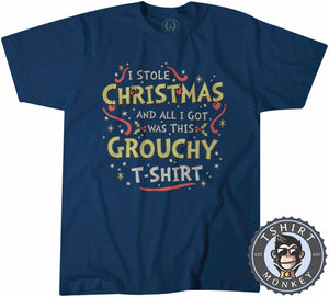 Grouchy Ugly Sweater Christmas Tshirt Kids Youth Children 2846