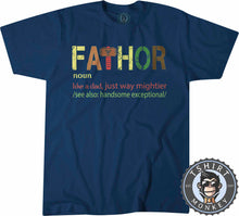 Load image into Gallery viewer, FaThor 01 Tshirt Mens Unisex 0356