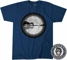 Load image into Gallery viewer, Nature Guitar Moonlight Tshirt Kids Youth Children 0089