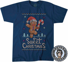 Load image into Gallery viewer, Sweet Christmas Ugly Sweater Tshirt Mens Unisex 2891