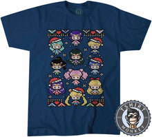 Load image into Gallery viewer, Kawii Christmas Ugly Sweater Tshirt Mens Unisex 2866
