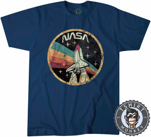 Vintage Nasa Inspired Tshirt Kids Youth Children 0126