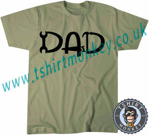 Dad T-Shirt Unisex Mens Kids Ladies - TeeTiger