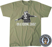 Load image into Gallery viewer, Titanic Am I Flying Jack? T-Shirt Unisex Mens Kids Ladies - TeeTiger
