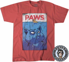 Load image into Gallery viewer, Paws - Halftone Tshirt Kids Youth Children 3015