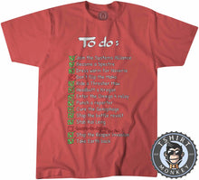 Load image into Gallery viewer, The Mass Effect To Do List Funny Game Inspired Gamer Statement Tshirt Kids Youth Children 1286
