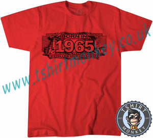Born In 1965 Limited Edition T-Shirt Unisex Mens Kids Ladies