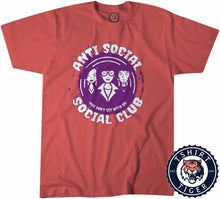 Load image into Gallery viewer, Anti Social Club Funny Statement Tshirt Lady Fit Ladies 3198