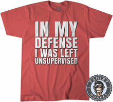 Load image into Gallery viewer, In My Defense Funny Typography Statement Tshirt Kids Youth Children 1331