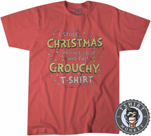 Load image into Gallery viewer, Grouchy Ugly Sweater Christmas Tshirt Kids Youth Children 2846