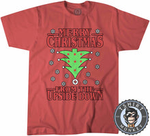 Load image into Gallery viewer, Upside Down Christmas Tshirt Kids Youth Children 1668