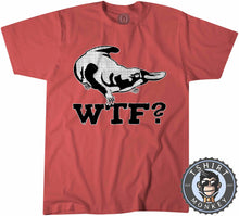 Load image into Gallery viewer, WTF - Platypus Inspired Vintage Animal Print Funny Tshirt Kids Youth Children 1309