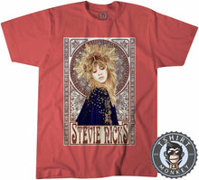 Load image into Gallery viewer, Mucha Art Stevie Nicks Inspired Graphic Illustration Tshirt Kids Youth Children 1120