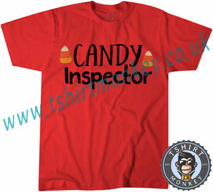 Candy Inspector T-Shirt Unisex Mens Kids Ladies