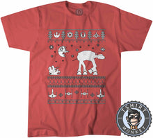 Load image into Gallery viewer, Star Wars Inspired Ugly Sweater Christmas Tshirt Kids Youth Children 2979