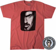 Load image into Gallery viewer, Older - George Micheal Halftone Tshirt Kids Youth Children 0184