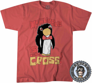 Red Dwarf Mr Flibble Is Very Cross Funny Cartoon Tshirt Kids Youth Children 1101
