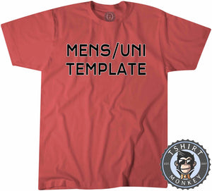 Mens Uni Template Typography Graphic Tshirt Kids Youth Children 1243