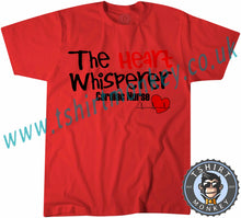 Load image into Gallery viewer, The Heart Whispers Cardiac Nurse T-Shirt Unisex Mens Kids Ladies - TeeTiger