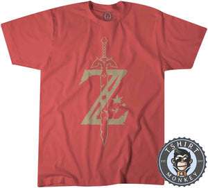 "Zelda ""Breath of The Wild"" Tshirt Kids Youth Children 0057"