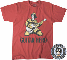Load image into Gallery viewer, Rockstar Fireman Guitar Hero Rock and Roll Graphic Tshirt Kids Youth Children 1060